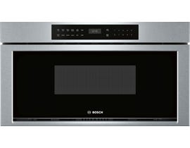 Bosch 800 Series 30 inch 1.2 cu.ft. Built-in Drawer Microwave in Stainless Steel HMD8053UC