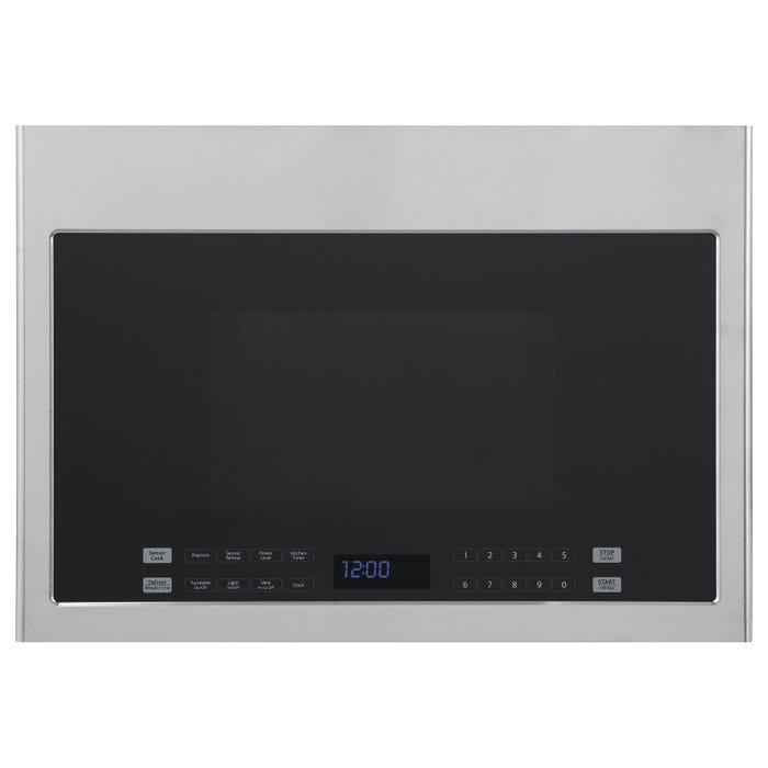 Haier 24 inch 1.4-Cu.-Ft. Over-The-Range Microwave Stainless Steel HMV1472BHS