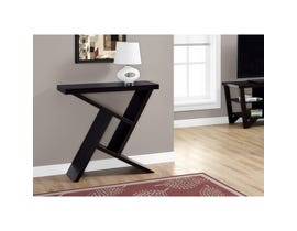 "MONARCH Accent Table- 36""L / CAPPUCCINO HALL CONSOLE"
