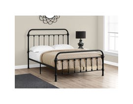 MONARCH Bed - FULL SIZE / BLACK METAL FRAME ONLY