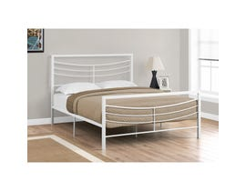 Monarch Bed Frame in White Metal I2640