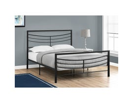MONARCH Bed - QUEEN SIZE / BLACK METAL FRAME ONLY