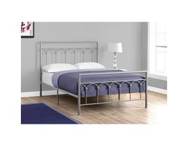MONARCH Bed - FULL SIZE / SILVER METAL FRAME ONLY