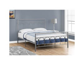 Monarch Bed Frame in Silver Metal I2656