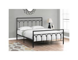 Monarch Bed Frame in Black Metal I2657