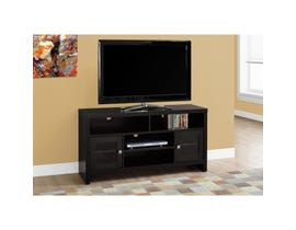 """MONARCH TV Stand - 48""""L / CAPPUCCINO WITH GLASS DOORS"""