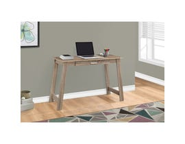 "MONARCH Computer Desk - 42""L / DARK TAUPE WITH A STORAGE DRAWER"
