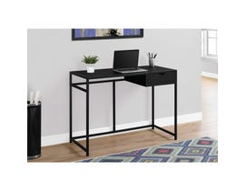 "MONARCH Computer Desk - 42""L / BLACK / BLACK METAL"