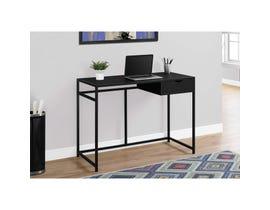 "MONARCH Computer Desk - 42""L / BLACK / BLACK METAL"