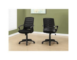 MONARCH Office Chair - BLACK / BLACK MESH / MULTI POSITION