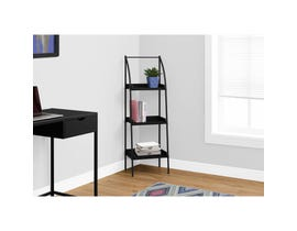 "MONARCH bookcase - 48""H / BLACK / BLACK METAL"