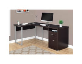 "MONARCH Computer Desk - 80""L / CAPPUCCINO LEFT OR RIGHT FACING"