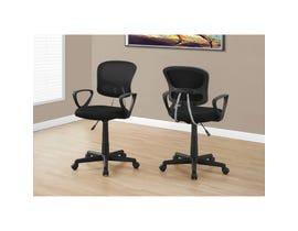 MONARCH Office Chair - BLACK MESH JUVENILE / MULTI-POSITION
