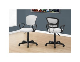 MONARCH Office Chair - WHITE MESH JUVENILE / MULTI-POSITION