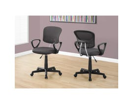 MONARCH Office Chair - GREY MESH JUVENILE / MULTI POSITION