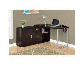"MONARCH Computer Desk - 60""L / CAPPUCCINO LEFT OR RIGHT FACING"