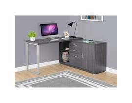 "MONARCH Computer Desk - 60""L / GREY LEFT OR RIGHT FACING"