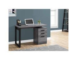 "MONARCH Computer Desk - 48""L / GREY-BLACK LEFT OR RIGHT FACING"