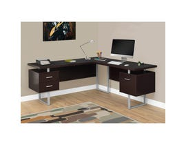 "MONARCH Computer Desk - 70""L / CAPPUCCINO LEFT OR RIGHT FACING"