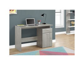 "MONARCH Computer Desk - 46""L / GREY WITH STORAGE DRAWERS"