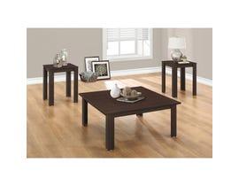 Monarch Table Set - 3PCS SET / CAPPUCCINO