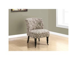 Monarch Accent Chair - TRADITIONAL STYLE TAUPE TAPESTRY