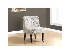 Monarch Accent Chair - TRADITIONAL STYLE VINTAGE FRENCH FABRIC