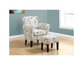 Monarch Accent Chair - 2PCS SET / VINTAGE FRENCH FABRIC
