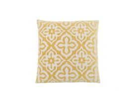 "Monarch Pillow  - 18""X 18"" / YELLOW MOTIF DESIGN / 1PC"