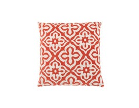 "Monarch Pillow  - 18""X 18"" / ORANGE MOTIF DESIGN / 1PC"