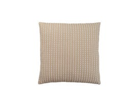"Monarch Pillow  - 18""X 18"" / LIGHT / DARK TAUPE ABSTRACT DOT / 1PC"