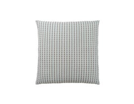"Monarch Pillow  - 18""X 18"" / LIGHT BLUE / GREY ABSTRACT DOT / 1PC"