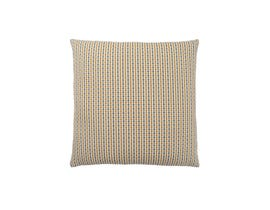 "Monarch Pillow  - 18""X 18"" / GOLD / GREY ABSTRACT DOT / 1PC"
