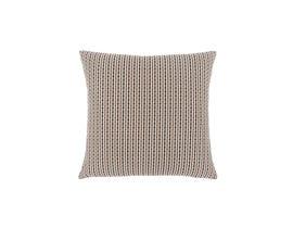 """Monarch Pillow  - 18""""X 18"""" / LIGHT / DARK BROWN ABSTRACT DOT / 1PC"""