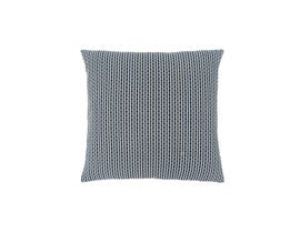 "Monarch Pillow  - 18""X 18"" / LIGHT / DARK BLUE ABSTRACT DOT / 1PC"