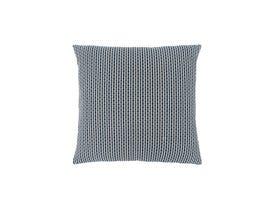 """Monarch Pillow  - 18""""X 18"""" / LIGHT / DARK BLUE ABSTRACT DOT / 1PC"""