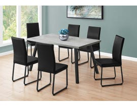 Monarch Rectangular Dining Table in Grey I1136