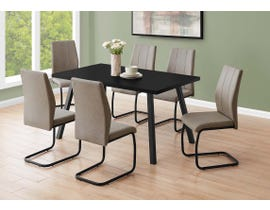 Monarch Rectangular Dining Table in Black I1139