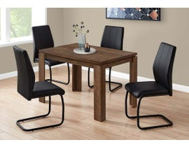 Monarch Rectangular Dining Table with Reclaimed Wood-look in Brown I1163