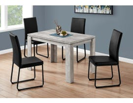 Monarch Rectangular Dining Table with Reclaimed Wood-look in Grey I1164