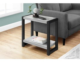 Monarch Metal Accent Table in Grey I2082