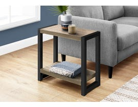 Monarch Metal Accent Table in Dark Taupe I2083