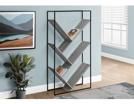 Monarch Metal Bookcase  in Grey I2200