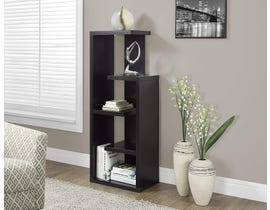 "Monarch Bookcase 48""H Cappuccino Accent Display Unit I2465"
