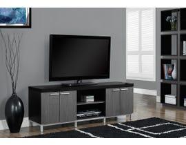 "Monarch TV STAND - 60""L / BLACK / GREY I2590"