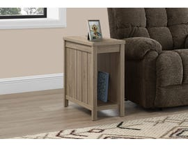 Monarch Accent Table  in Dark Taupe I2786