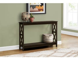 Monarch Hall Console Accent Table in Espresso I2790