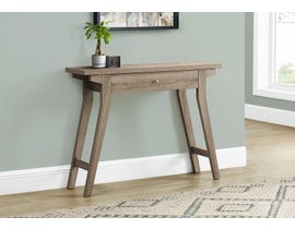 Monarch Accent Table with Storage Drawer Espresso in Dark Taupe I2796