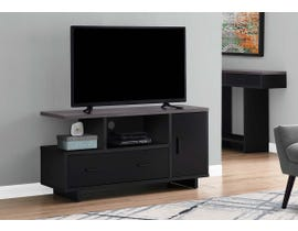 Monarch TV Stand with Storage in Grey/Black I2801