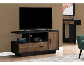Monarch TV Stand in Black/Brown I2803